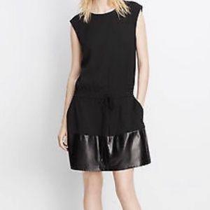 VINCE.  Black Cocktail Dress. Size M
